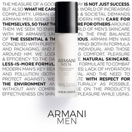 Armani Men The Moisturizer Idratante quotidiano viso e occhi antietà